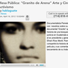 Mesa Pblica: &quot;Granito de Arena Arte y Cine para Activismo